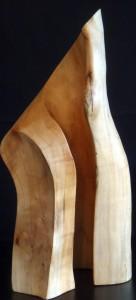 Bart Ensing Houtsculpture Kers aug 2017 Ara