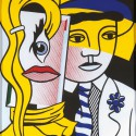 Roy Lichtenstein  Stepping out