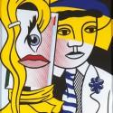 Roy Lichtenstein  Stepping out
