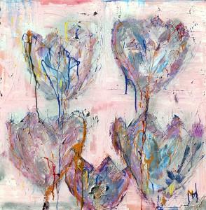 Titel; Tulips van Margret heeremans