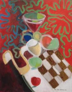 Jan Peter van Opheusden Glas wijn