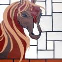 Pearl de Bart  paard in stal