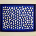 Henk Broeke O.76 - Manta Blauw - 104 x 134 x 5,5 cm -