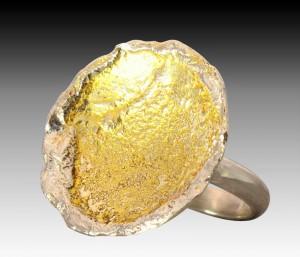 Lesley Zijlstra-Eyre Lunar Gold Art925